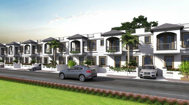 3 & 4 bhk Duplex Villa for Sale on Ajmer Road Jaipur