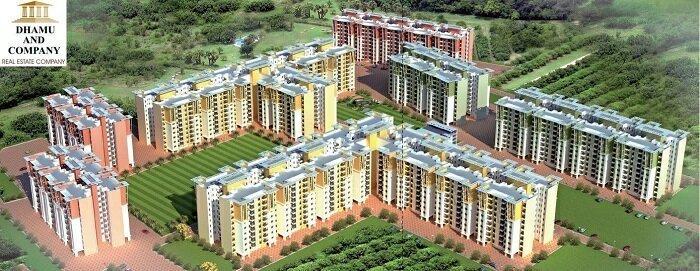 apartment building of urbana jewels jaipur